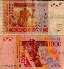 франк зап.африки