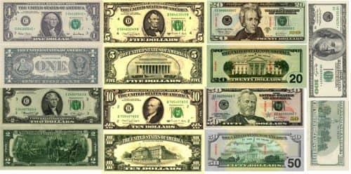 Доллар США - история, как выглядит