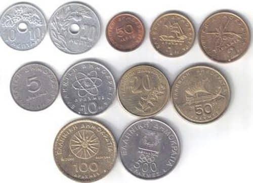 Греческая драхма - Десять самых долговечных валют мира.