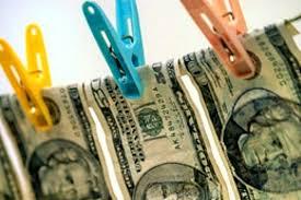 отмывать доллары