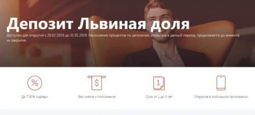 Альфа Банк вклады 2019