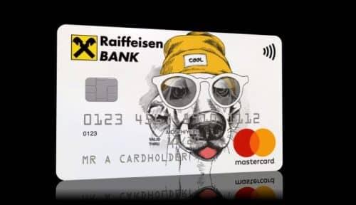 Детская дебетовая карта Райффайзен банка