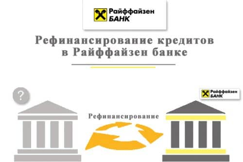 Рефинансирование в Райффайзенбанке потребительского кредита