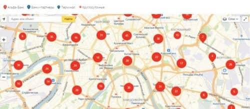 Банки партнеры Альфа Банка без комиссии карта