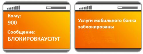 Как отключить услугу мобильный банк Сбербанка