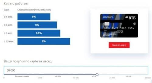 Положить деньги под проценты в ВТБ калькулятор онлайн
