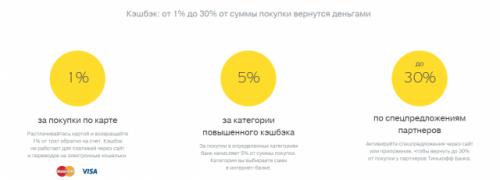 Тинькофф кэшбэк категории 2019